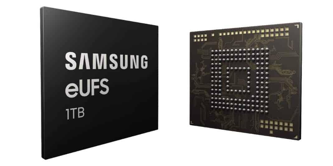 Samsung produziert 1TB eUFS 2.1 Speicher in Serie