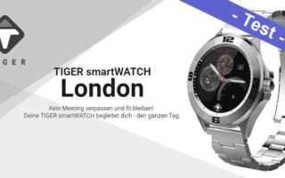 Tiger smartWatch London Test – Edelstahl, günstig aber sonst?