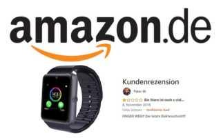 Negative Rezension bei Amazon löschen gegen Bezahlung - ein unmoralisches Angebot