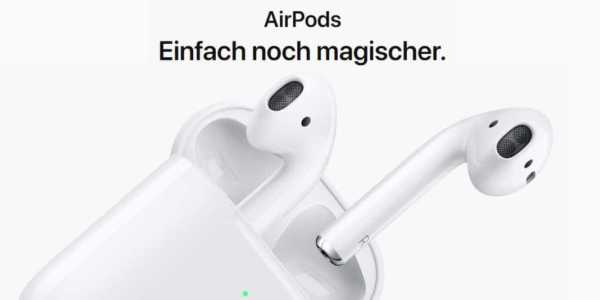 apple airpods 2 jetzt kabellos zu laden und l ngerer. Black Bedroom Furniture Sets. Home Design Ideas