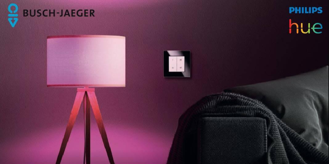 Demnächst erhältlich - Philips Hue Lichtschalter von Busch-Jäger