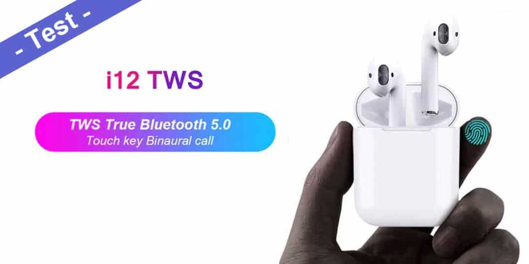 i12 TWS Test – Real Fake AirPods Wireless Bluetooth Headset