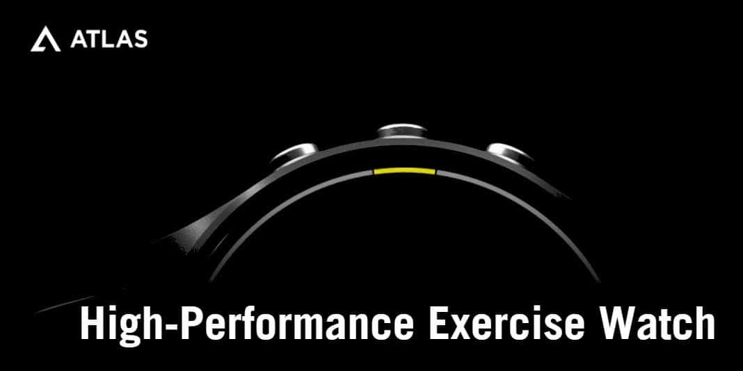 Atlas Multi-Trainer 3 - die etwas andere Smartwatch für Sportler