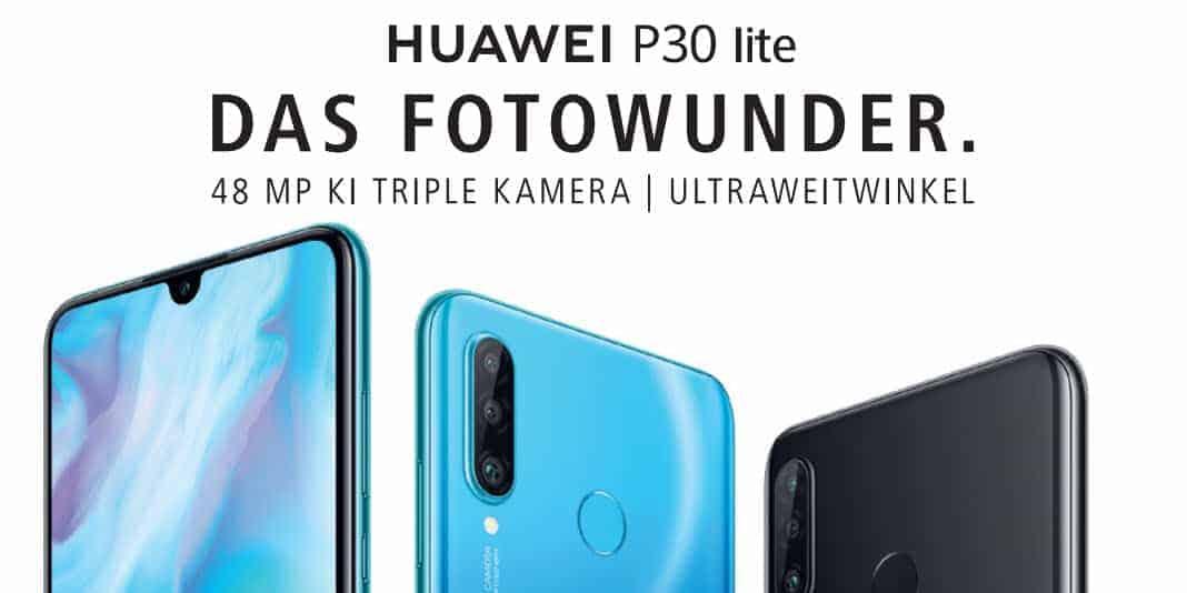 Huawei P30 Lite - ab Mai für 369 Euro erhältlich