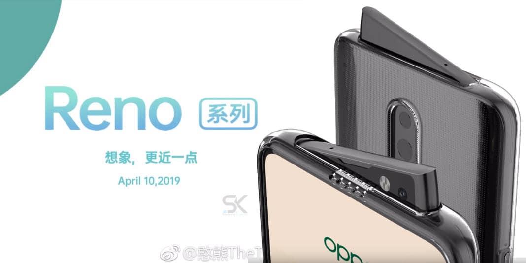 OPPO Reno - ohne Notch aber schräger Kamera