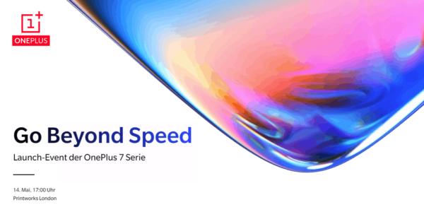 Das OnePlus 7 Launch Event steigt am 14. Mai 2019