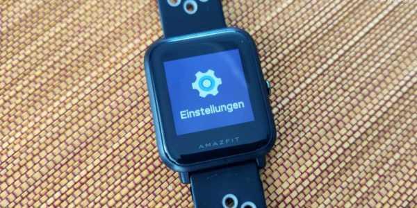 Amazfit Bip in deutsch - jetzt offiziell verfügbar