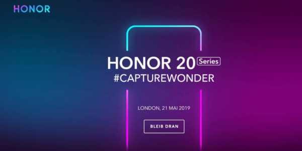 Honor 20 Serie - neue Teaser zur Kamera und farbenfrohe Rückseite