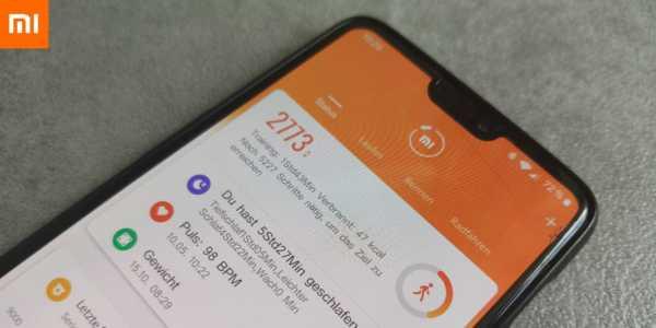 Xiaomi Mi Fit 4 0 – die Änderungen im Detail inkl  Download - mobi-test