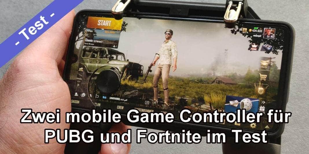 PUBG Mobile und Fortnite - zwei Game Controller im Test