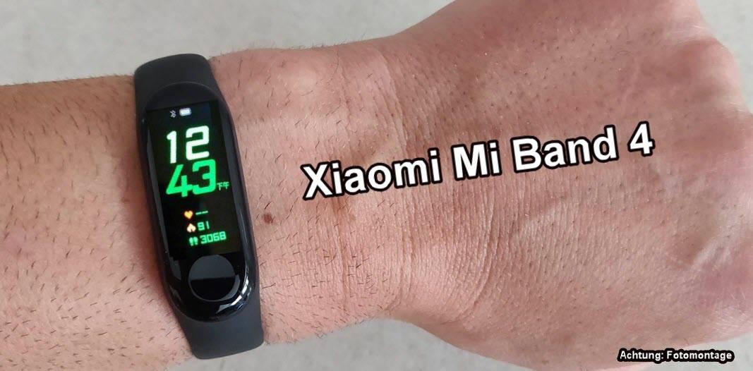 Xiaomi Mi Band 4 - es gibt die ersten Livebilder