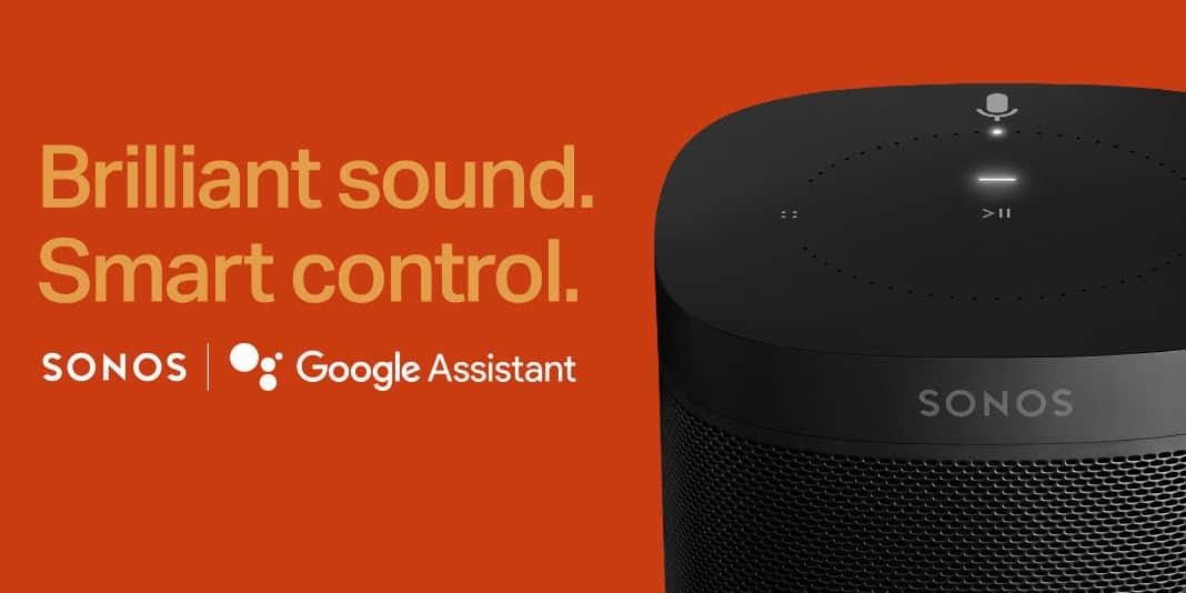 Endlich - der Google Assistant auf Sonos