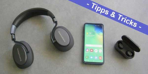 Samsung Galaxy S10 lauter machen - ist problemlos möglich