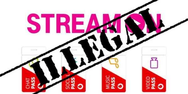 Urteil - Telekom StreamOn und Vodafone Pass sind illegal