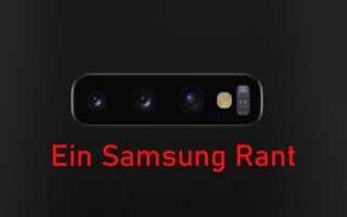Samsung ich bin echt Sauer - Warum ich Galaxy Geräte nicht mehr nutzen kann