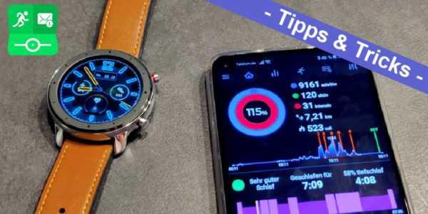 Amazfit GTR Watchface per Notify & Fitness App installieren - Schritt für Schritt erklärt