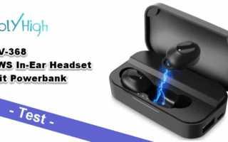 HolyHigh HV-368 im Test - günstiger TWS In-Ear Bluetooth Kopfhörer mit Extra