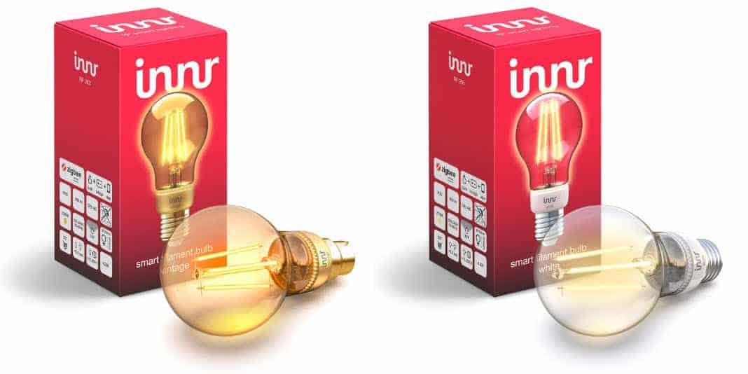 Innr Smart Filament Bulb ab sofort im Handel erhältlich