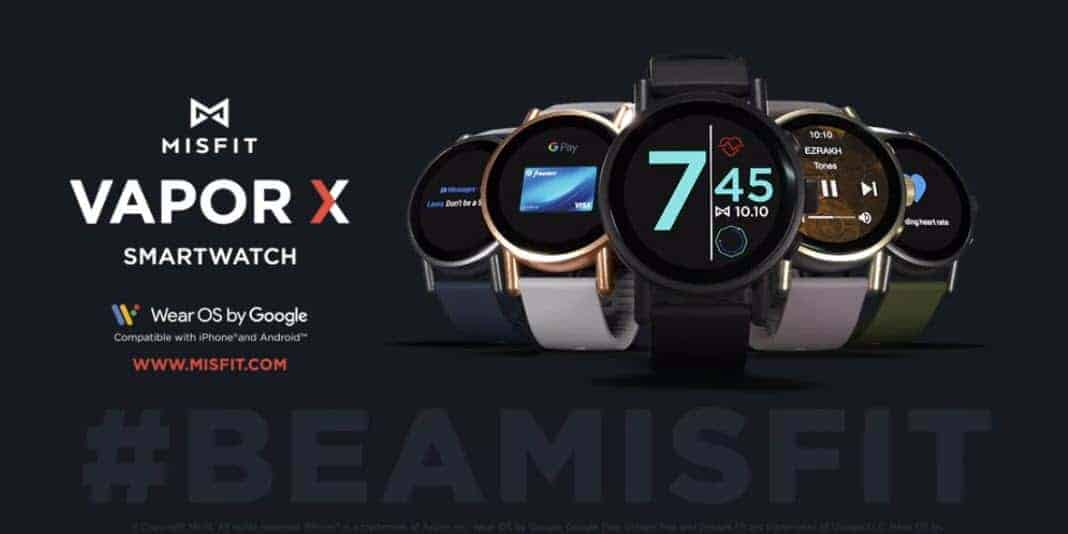 Misfit Vapor X Smartwatch vorgestellt