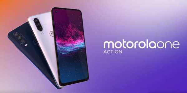Motorola One Action mit Triple-Kamera für 259 Euro vorgestellt