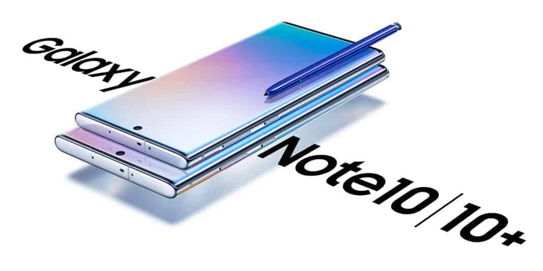 Samsung Galaxy Note 10 und Samsung Galaxy Note 10+ vorgestellt