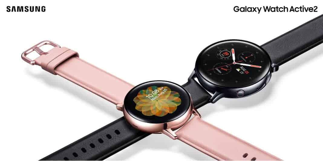 Samsung Galaxy Watch Active 2 - mit EKG, Sturzerkennung und digitaler Lünette