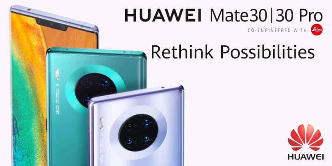 Huawei Mate 30 und Mate 30 Pro - ohne Google und ohne Termin