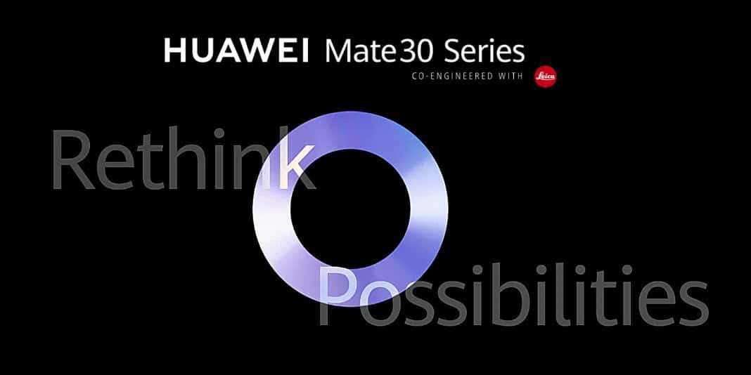 Huawei Mate 30 Serie - offizielle Bilder aller Modelle aufgetaucht