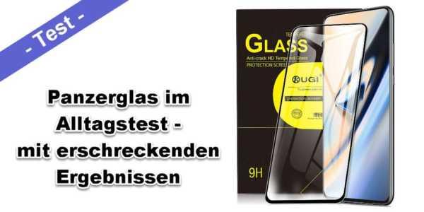 Panzerglas für Smartphones - oft genug ein schlechter Schutz