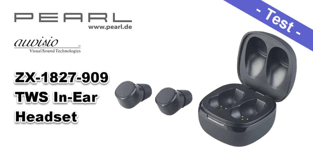 Im Test - das auvisio IHS-670 ZX-1827-909 In-Ear-Stereo-Headset bei Pearl