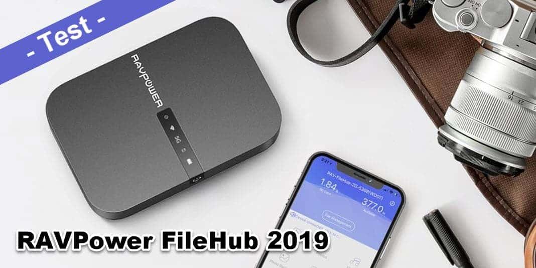 RAVPower FileHub Test - ist der mobile Tausendsassa sein Geld wert?