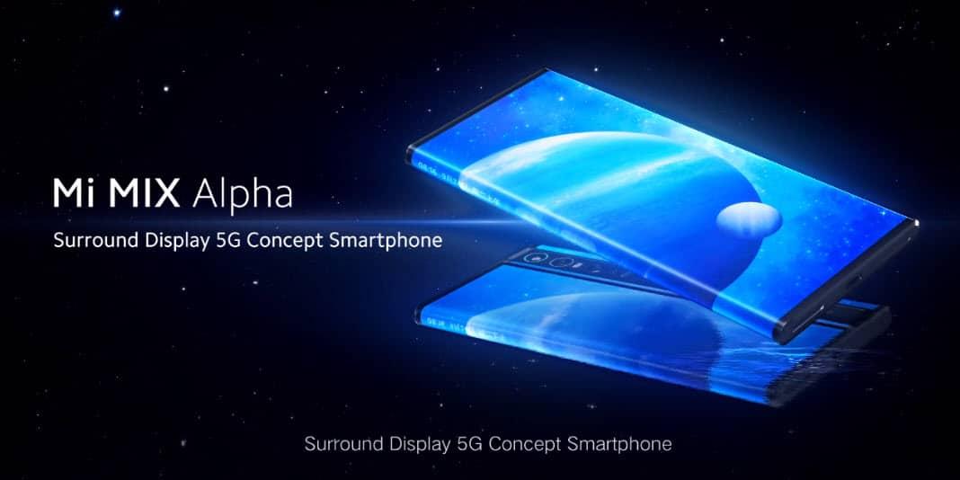 Xiaomi Mi Mix Alpha - ein Smartphone mit echten Um-die-Ecke Display