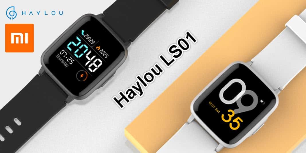 Haylou LS01 - neue Smartwatch orientiert sich an der Amazfit Bip