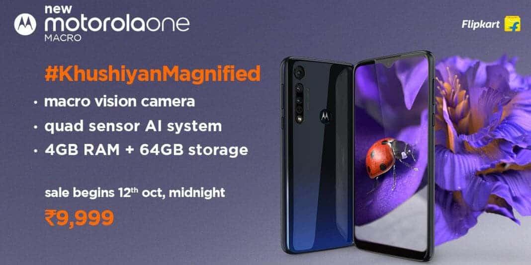 Motorola One Macro - ein Einsteiger Smartphone mit Makro-Objektiv