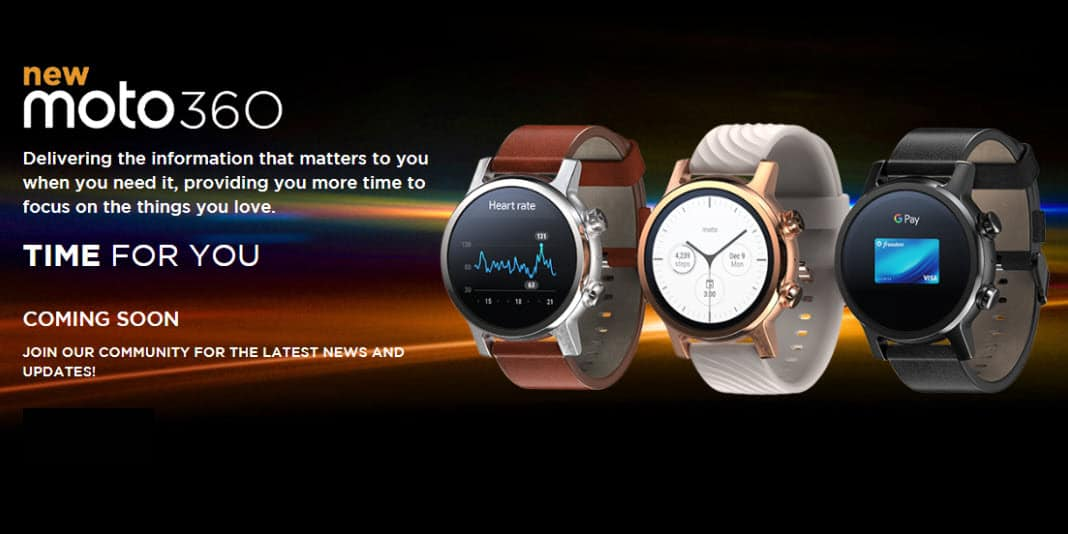 New Moto 360 - die Smartwatch Legende kehrt zurück