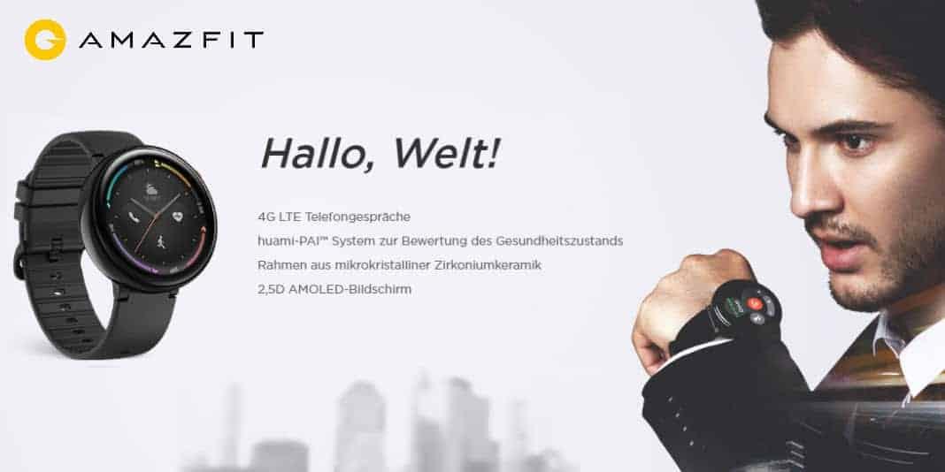 Amazfit Nexo - neue Smartwatch mit Telefoniefunktion