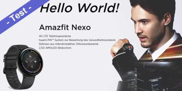 Amazfit Nexo - was ich gut finde und was nicht