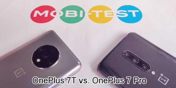 Vergleichstest - OnePlus 7T oder OnePlus 7 Pro?