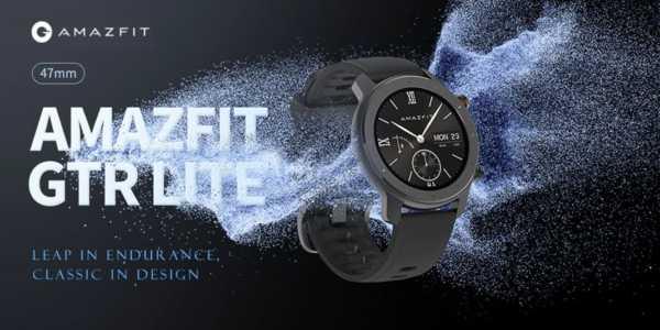 Amazfit GTR Lite - eine neue (unnötige) Smartwatch