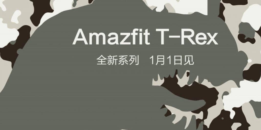 Amazfit T-Rex - die nächste Smartwatch ist auf dem Weg