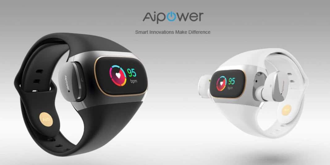 Aukey Aipower Wearbuds - Fitnesstracker und TWS Headset in einem