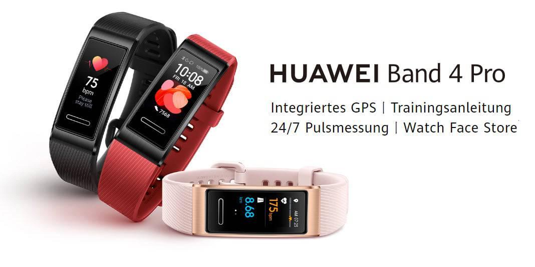 Huawei Band 4 Pro - einfacher Fitnesstracker mit SpO2 und GPS