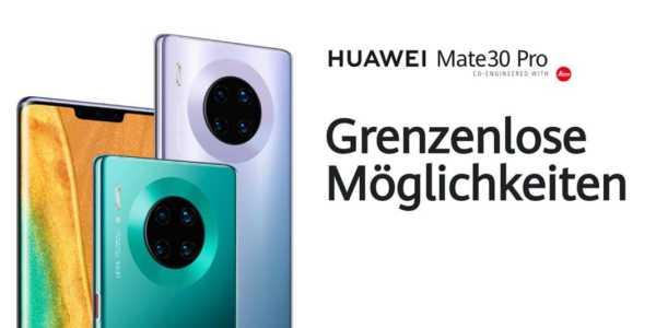 Huawei Mate 30 Pro - schon länger bei uns erhältlich als viele meinen