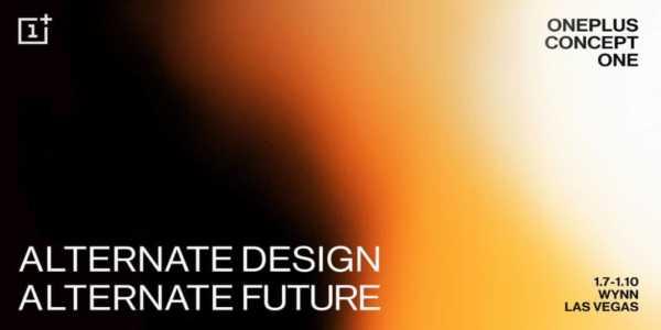 OnePlus Concept One - Vorstellung auf einem Special Event im Januar