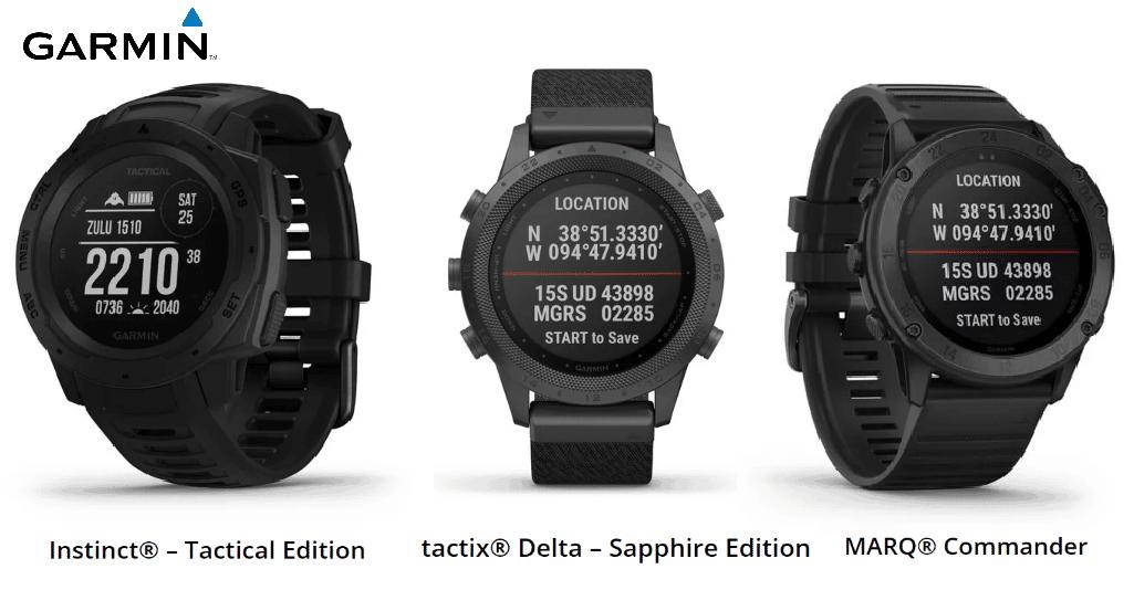 Garmin tactix - drei neue taktische Smartwatches nach Militärstandard