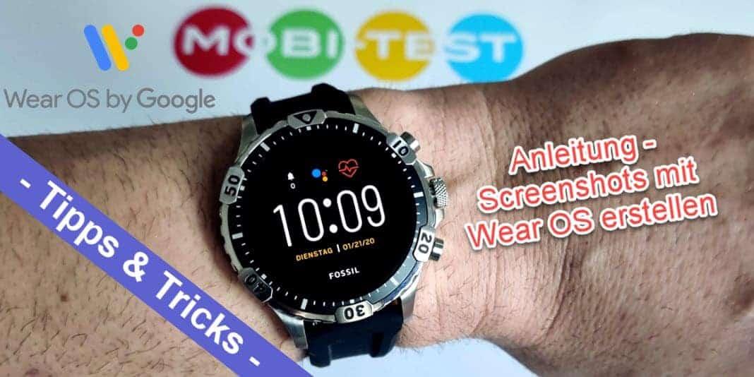 Android Wear OS Screenshots erstellen - so funktioniert es