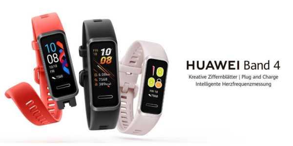 Huawei Band 4 - neuer preisgünstiger Fitnesstracker