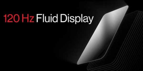 OnePlus 120 Hz Fluid Display vorgestellt