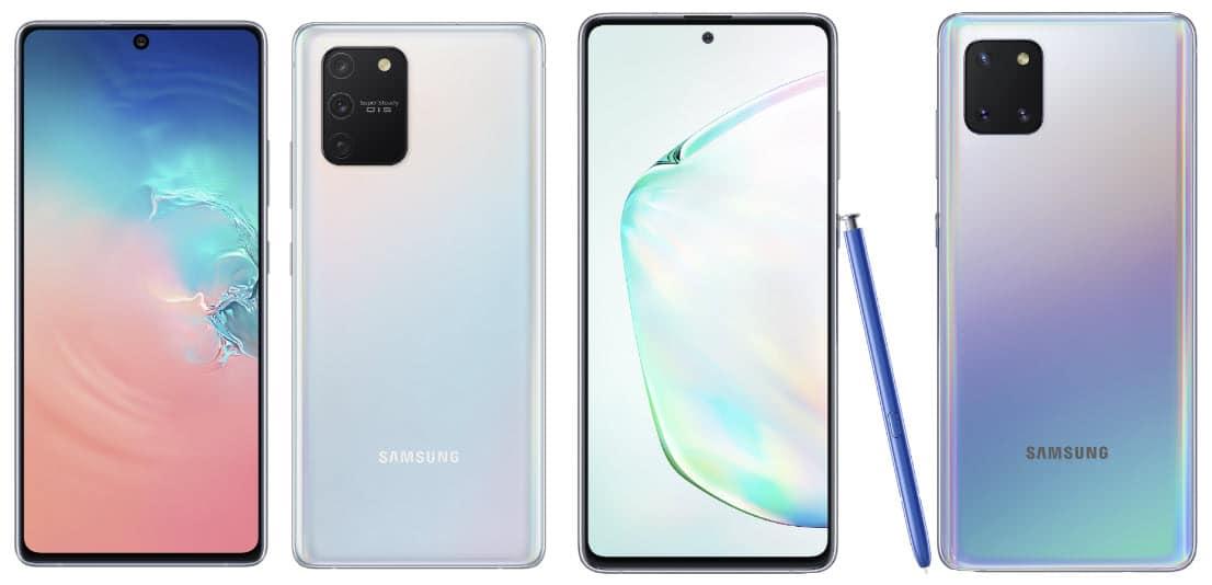 Samsung Galaxy S10 Lite und Samsung Galaxy Note10 Lite vorgestellt