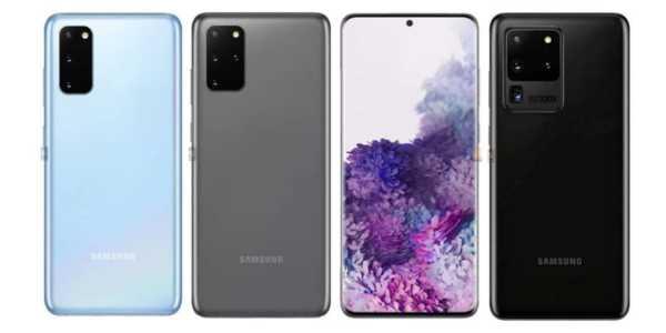 Samsung Galaxy S20 Serie - die (fast) offiziellen Bilder, Daten und Preise